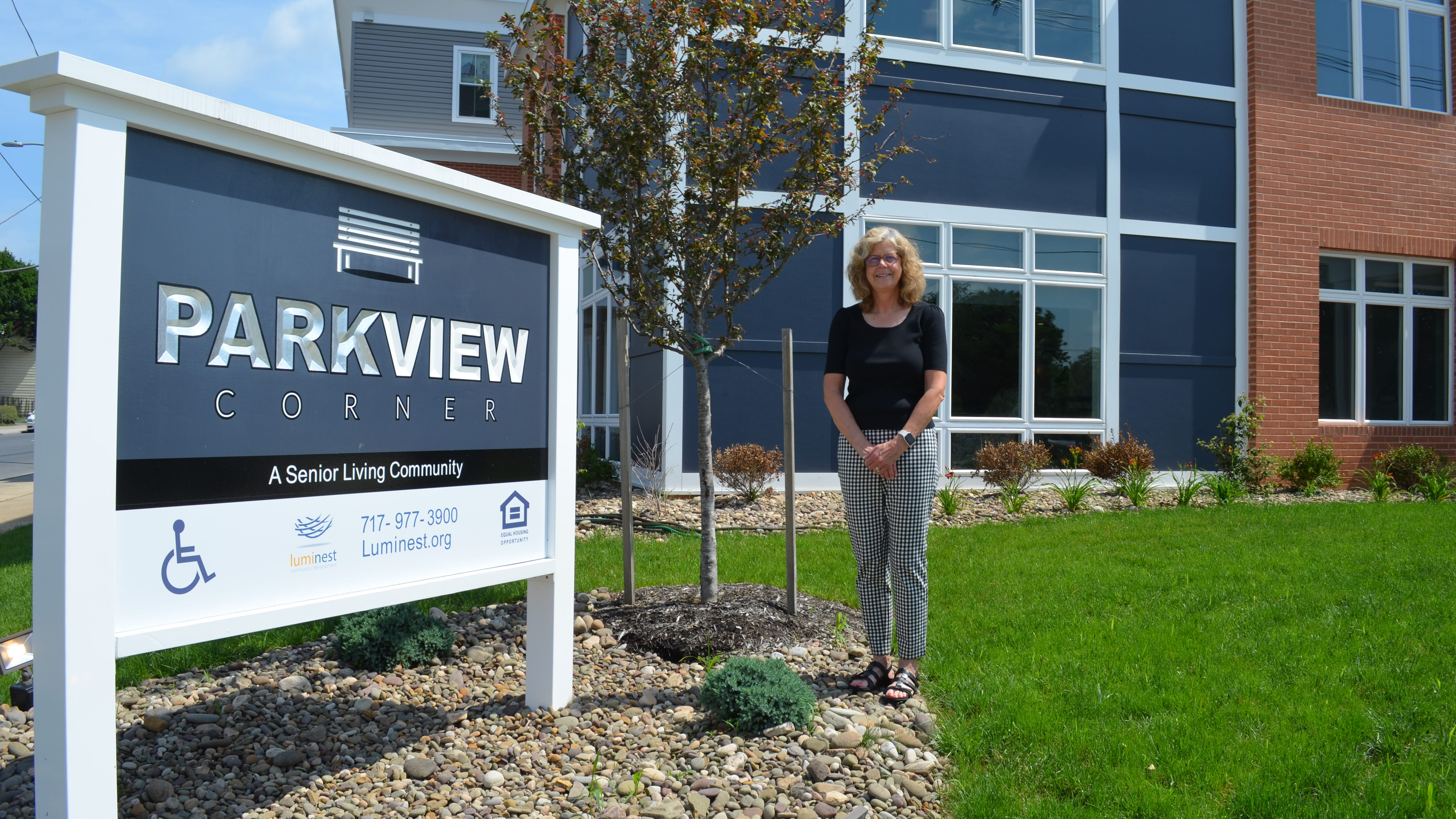 Bonnie Zehler, executive director of Luminest, said they've nearly filled their 40 units at the new Parkview Corner senior living community.