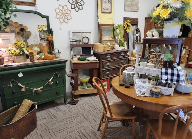 Homespun, a vintage-themed shop, recently opened at 815 Story St. in Boone, Iowa.