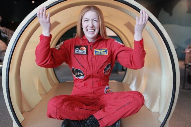 Abigail Harrison, founder of The Mars Generation, dreams of being the first astronaut to step foot on Mars.