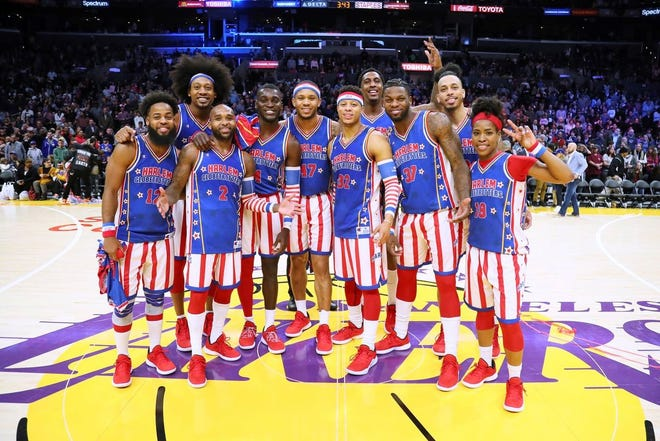 The Harlem Globetrotters will be at the Ocean Center on Friday.