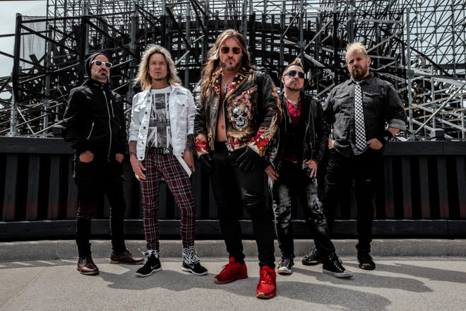 Fozzy plays Saturday at the Jacksonville Taco Festival at TIAA Bank Field.
