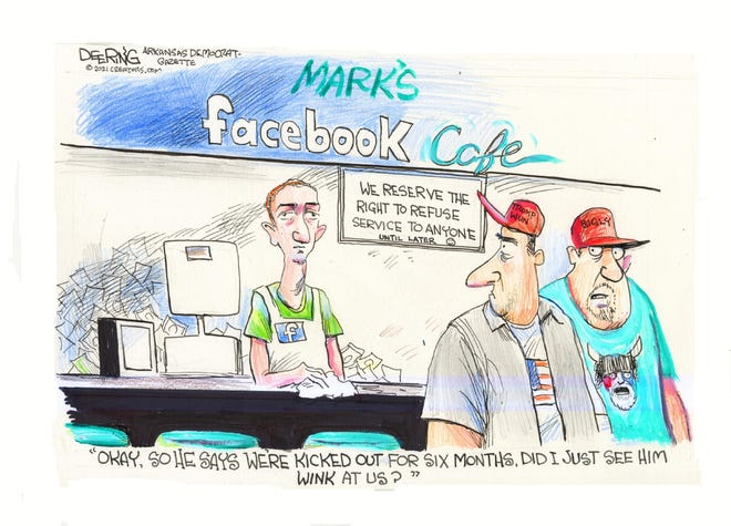 Today's editorial cartoon (July 13, 2021)