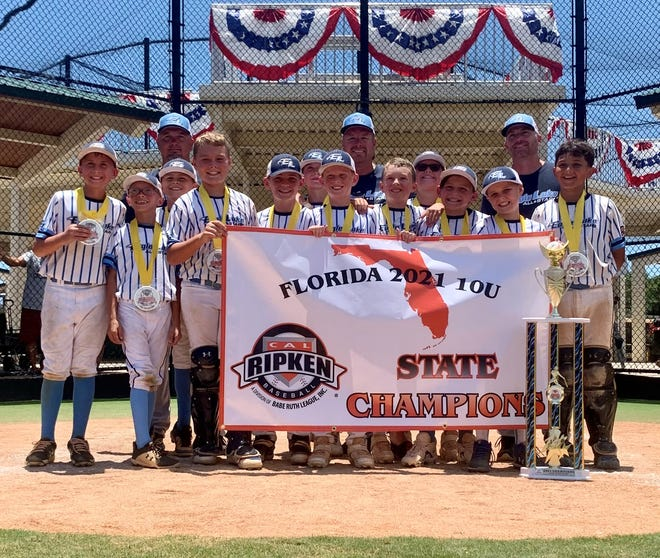 The Eagle Lake 10-under youth baseball team won its age group at the Cal Ripken League State Championship during the July 4 weekend.