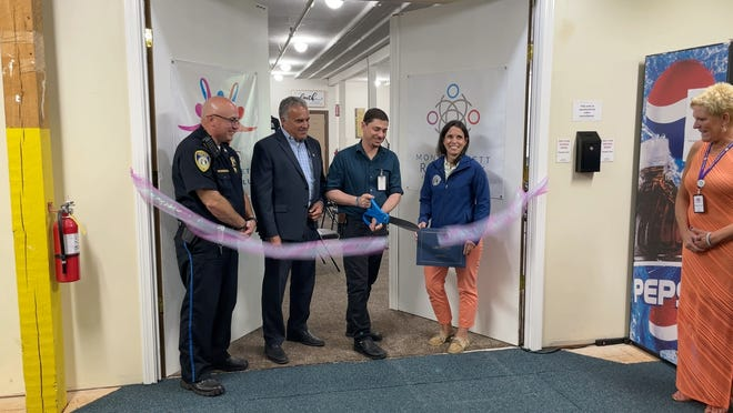 A ceremonial ribbon cutting was held Wednesday, July 7 to celebrate the opening of the Montachusett Recovery Club.