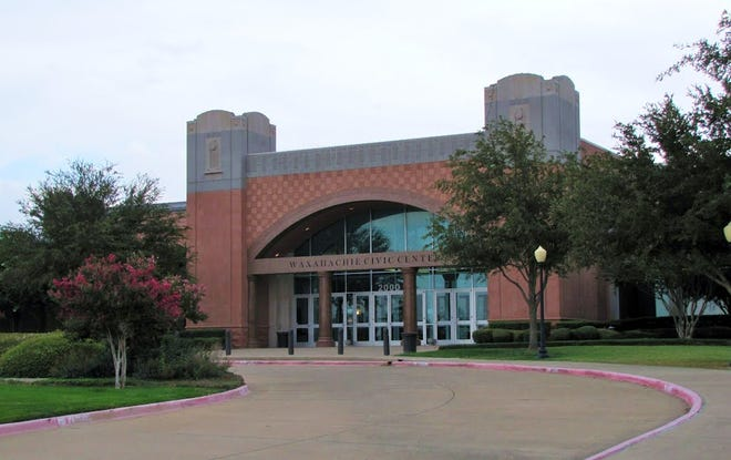 The Waxahachie Civic Center at 2000 Civic Center Lane.