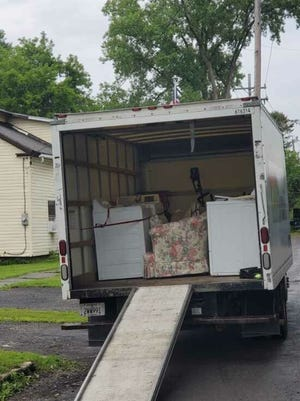 Some residents in Whitesboro are restoring to packing up their belongings in case it floods again, village officials said Monday.