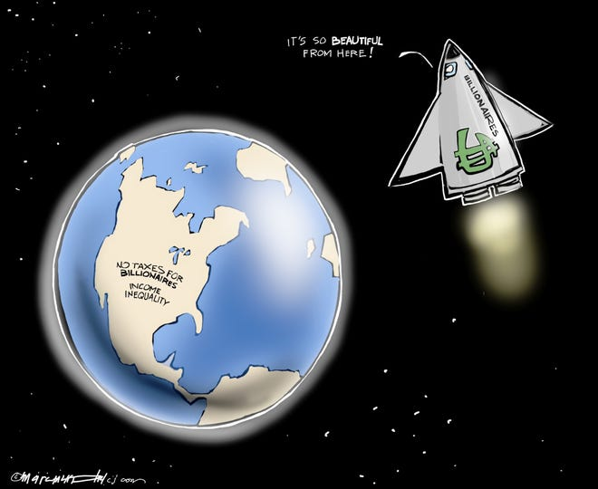 Editorial cartoon by Marc Murphy