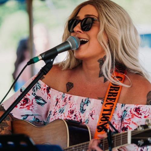 Local musician Holly August will perform in the Harbor Springs Friday Night Music in the Park series on Friday, July 16.