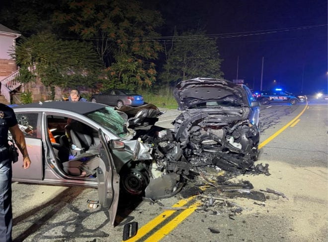 The police believe speed and alcohol were factors in the head-on crash late Thursday night.