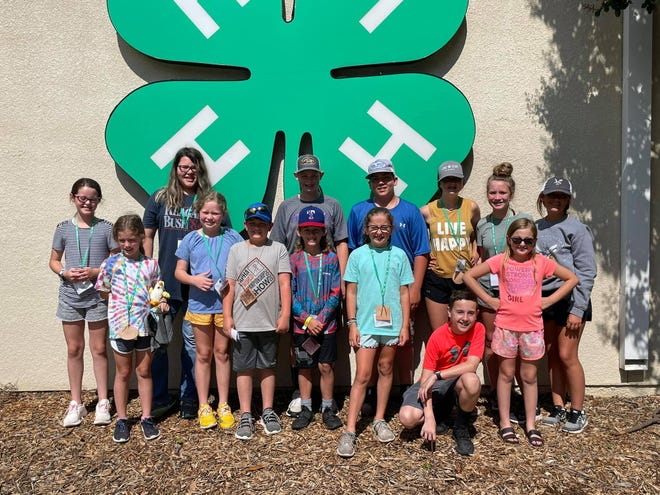 This group of Erath 4-H kids recently attended camp in Brownwood along with other 4-Hers from all over the state.