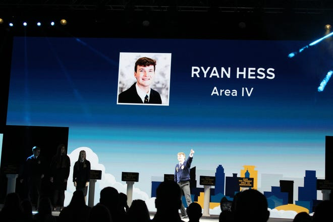 Stephenville FFA's Ryan Hess underwent an extensive seven-day election process where he was named one of the 12 Texas FFA state officers. He will serve the Texas FFA Association for the next year as the Area IV vice president.