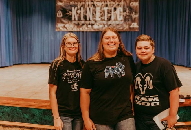 Shawnee FFA students attended a leadership camp.