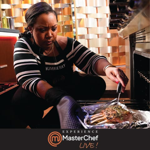 """""""MasterChef""""Livecoming in October to Wilson Center at Cape Fear Community College."""