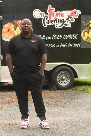 Corey Scott with On Thyme Catering for StarNews 40 under 40.