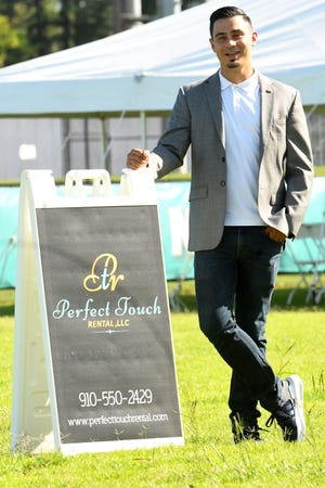Chris Montero, Co-Founder Perfect Touch Rental, is part of the StarNews 40 under 40. [KEN BLEVINS/STARNEWS]