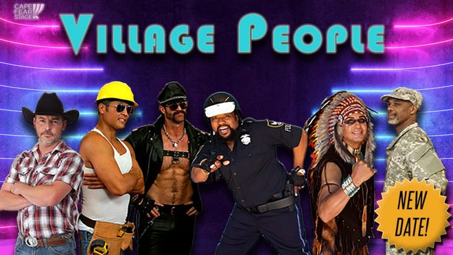 VillagePeoplewill be taking the Wilson Center stage onFriday, Oct.22, 2021.