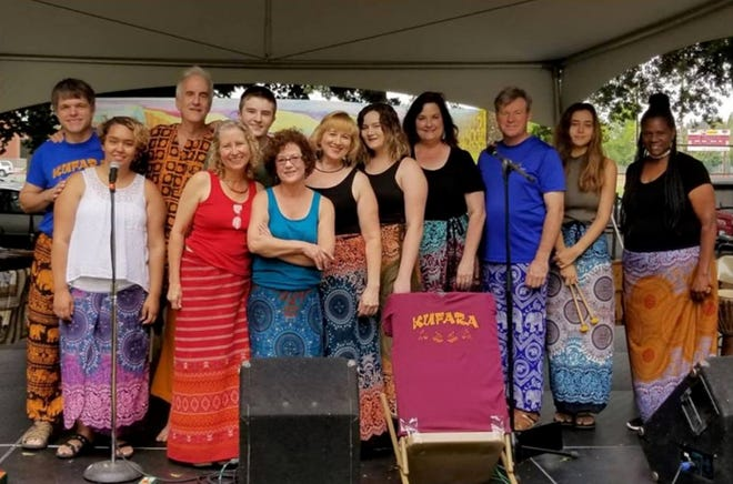 Kufara Marimba, a group of musicians from the Joplin area, will be performing African music from the Shona culture of Zimbabwe at Crawford State Park this Saturday.