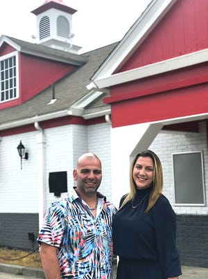 Ted  and Jenna Gidopoulos will open Gido's Brick Oven Pizza at 367 Main St. in Sturbridge.