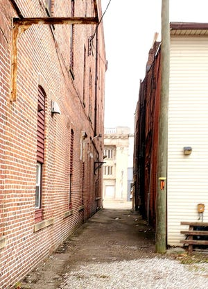 A ribbon-cutting ceremony will be held on Oct. 17 for the Artagain Alley project in downtown New Philadelphia.