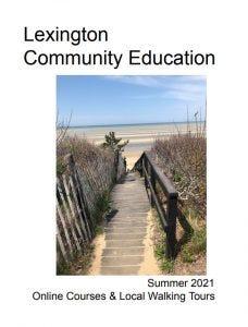 Lexington Community Education's summer 2021 catalog.