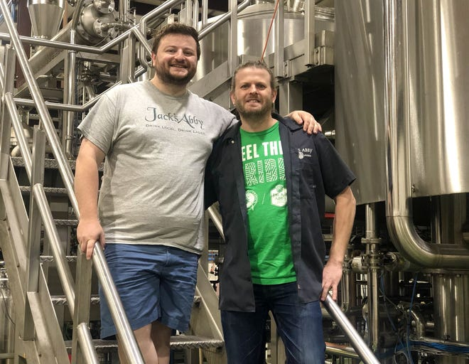 Sam and Jack Hendler founded Jack's Abby in Framingham 10 years ago with their brother Eric. Their all-lager brewery has grown into the second-largest outside Boston.