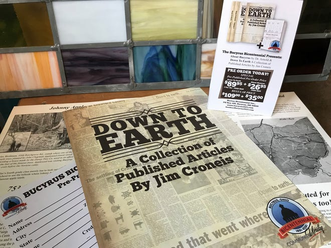 A three-volume collection of columns written by former Telegraph-Forum publisher Jim Croneis will benefit a trio of local nonprofits, all dedicated to preserving local history.