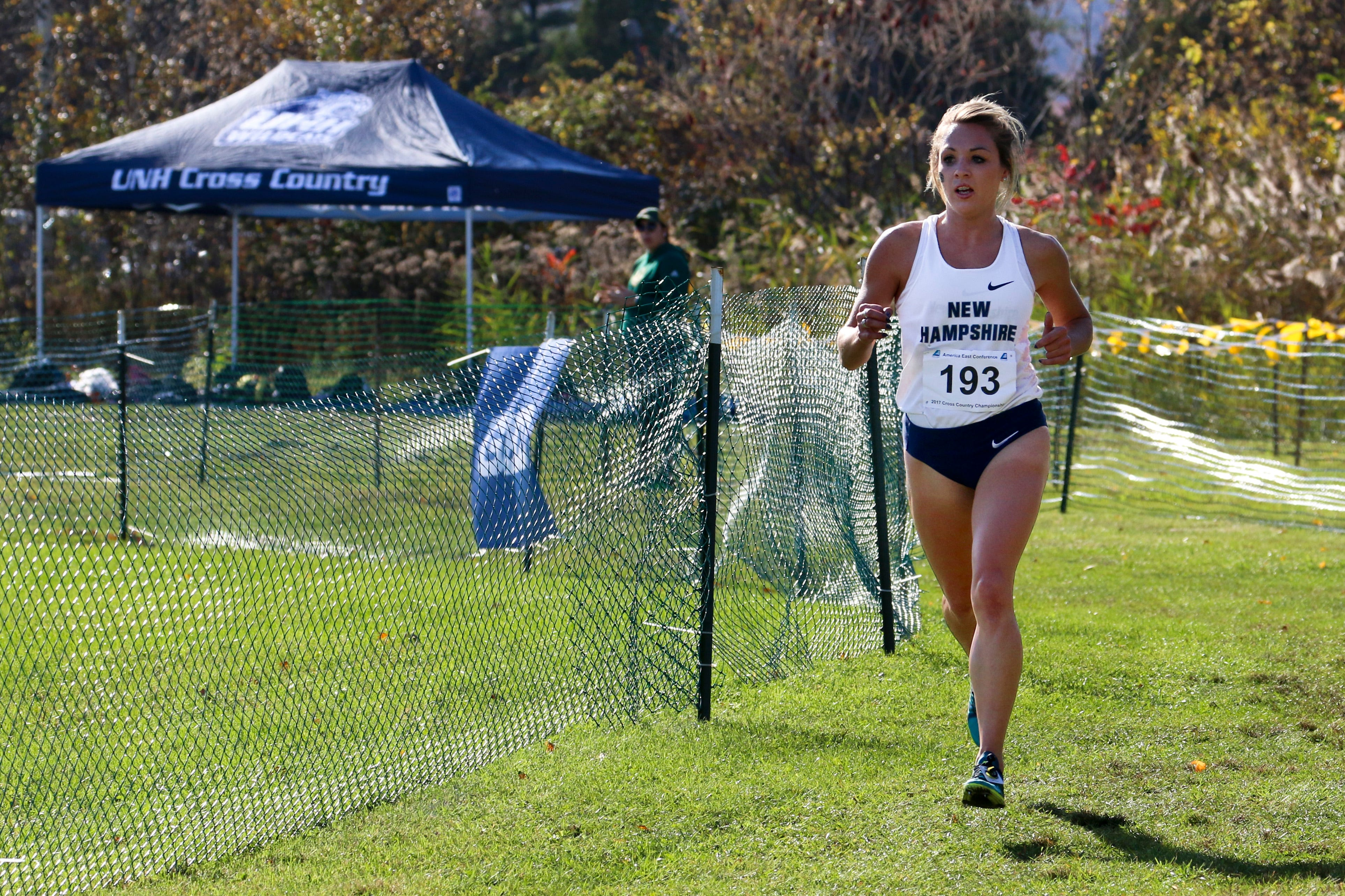 Elle Purrier St. Pierre is the most decorated athlete in the history of University of New Hampshire athletics.
