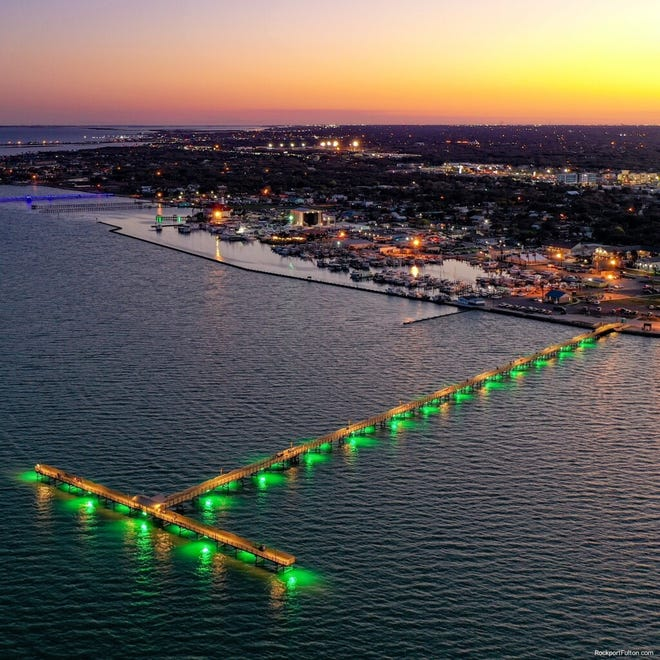 Fulton Fishing Pier was destroyed and washed away by Hurricane Harvey in 2017. After three and a half years, the pier has now been rebuilt andis welcoming visitors to the Texas coast. Construction on the $2 million project started in fall 2020.
