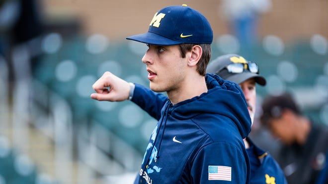 Michigan lefty Steve Hajjar was drafted by the Minnesota Twins on Monday.
