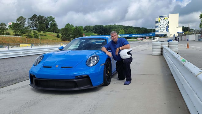 Detroit News auto critic Henry Payne turned some hot laps around Road Atlanta in the 2022 Porsche 911 GT3.