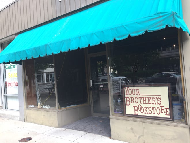 Brothers Sam and Adam Morris are opening Your Brother's Bookstore at 504 Main St. Their planned opening debut is Oct. 1.