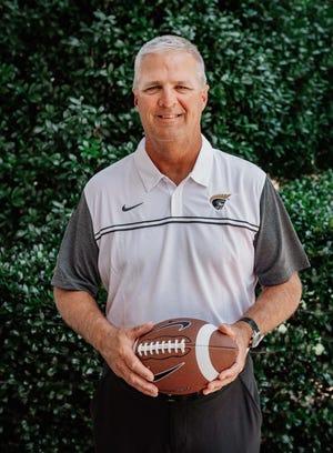New Anderson University football coach Bobby Lamb