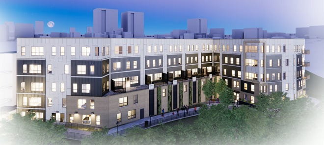 An affordable apartment development is to be built at 1887 N. Water St., overlooking the Milwaukee River.