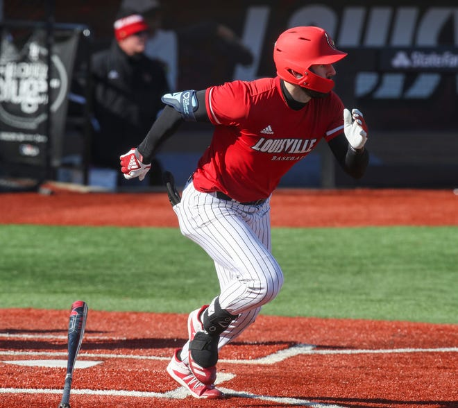 Oak Creek native Alex Binelas hit .256 with 19 home runs and 63 RBI for Louisville this year.