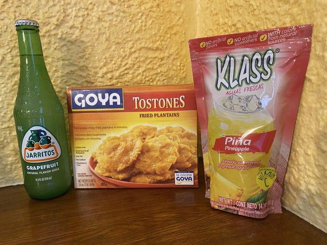 Pour ceux des voisins américains du Mexique et des Caraïbes, les Tostones sont de bons grignotines, et les sodas Jarritos et Agua Fresca garderont les gens hydratés.