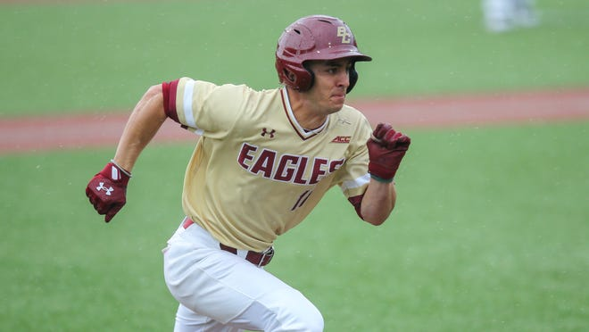 Sal Frelick hit .359 as a junior at Boston College, earning all-ACC first team and ACC defensive player of the year honors.