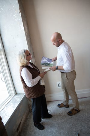 Mary and Richard Kelly are opening Interiors Etc. at the Jones421 building at 421 N. Phillips Ave.