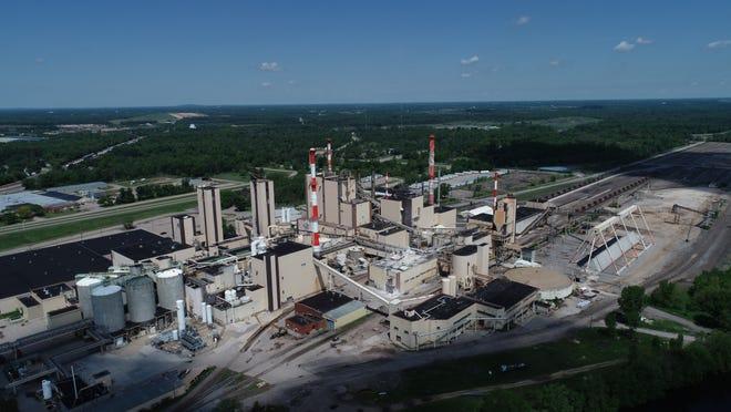 Verso's Wisconsin Rapids paper mill.