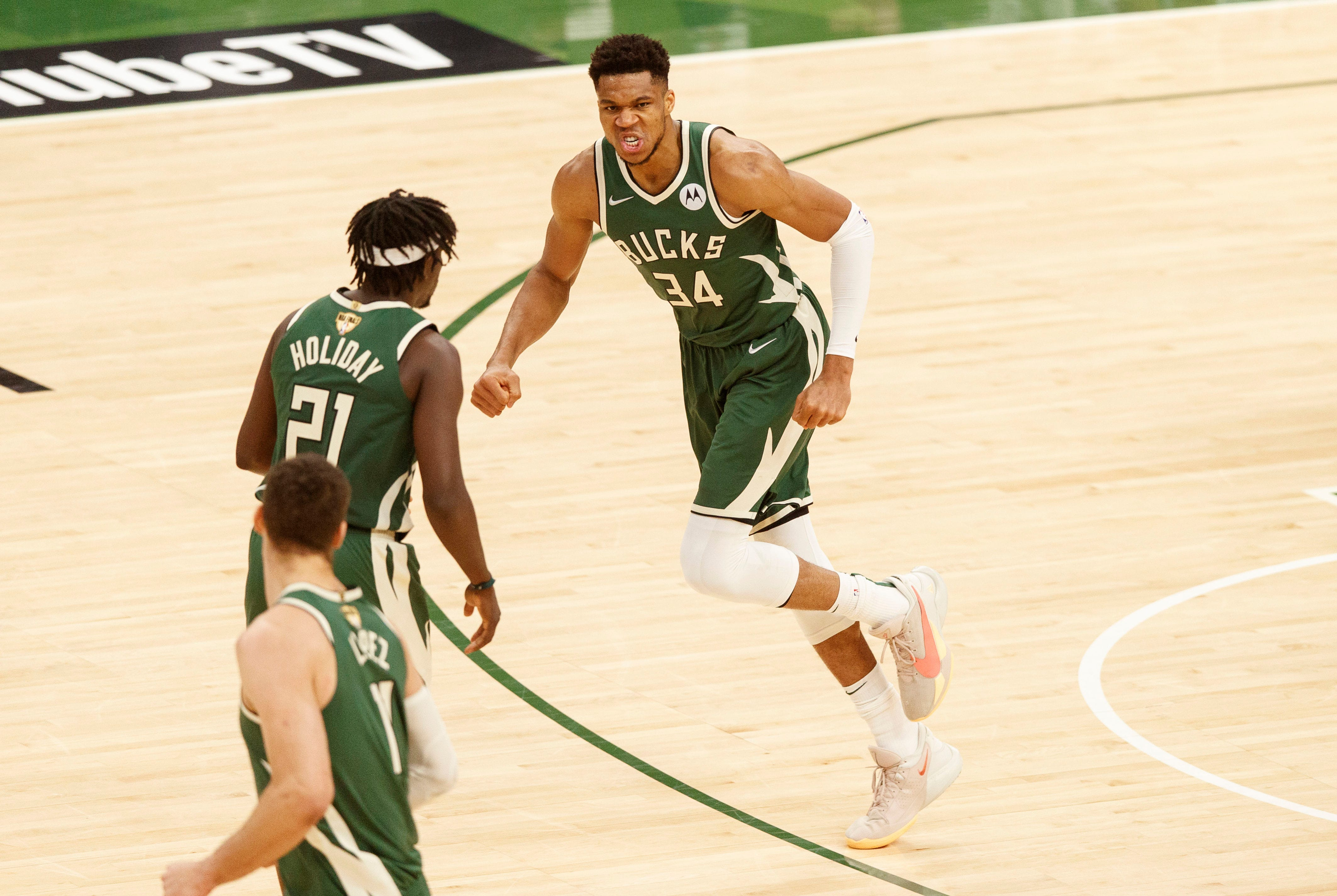 NBA Finals: Bucks rout Suns in Game 3 behind Giannis Antetokounmpo s huge 41-point effort
