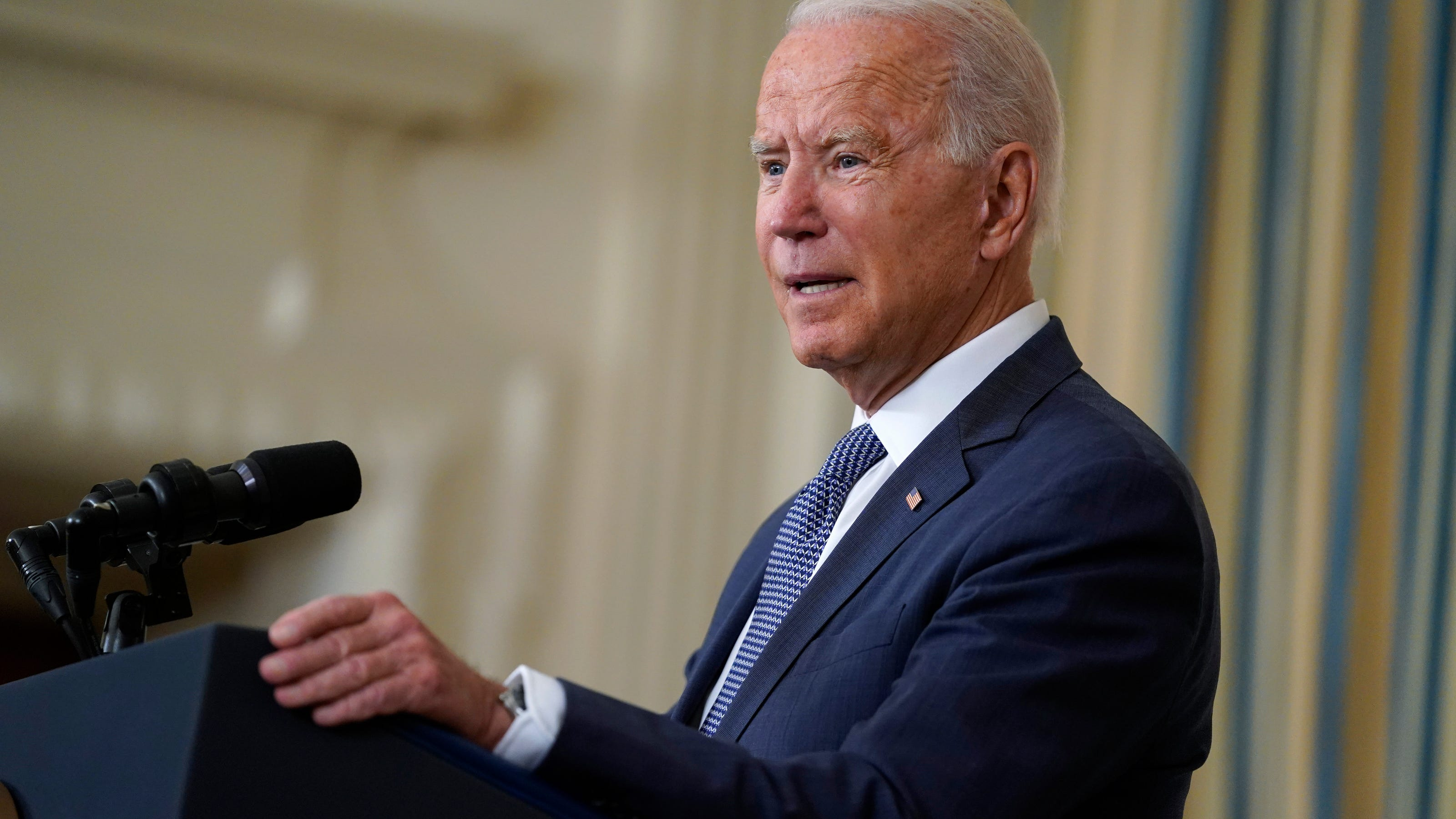 Biden urges landlords to pause evictions as White House scrambles for solutions to extend moratorium
