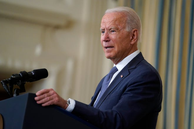 President Joe Biden urged Congress to move forward with legislation to permanently protect those covered by the Deferred Action for Childhood Arrivals program.