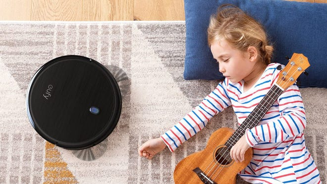 The Eufy 11S is our favorite affordable robot vacuum and you can get it for less than $150.