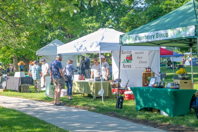 The Hudson Farmers Market continues its season on July 17 with the return of the Hudson Merchant's Sidewalk Sale.