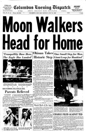 CD 07211969 1A - moon walkers head for home