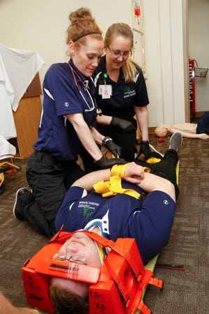 For those EMTs who want to advance the level of care they can provide, Dakota College has partnered with Trinity Health in Minot to offer a paramedic program.