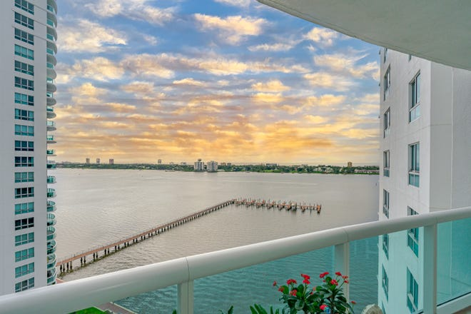 Amazing views for miles and modern vibes will draw you into this breathtaking sky home in Marina Grande on the Halifax in Holly Hill.