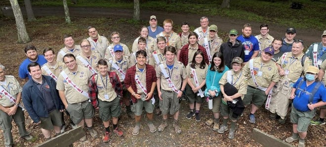 Held at Goose Pond Scout Reservation in Lake Ariel, PA, this event, known as a Section Conclave, was composed of members of the Order of the Arrow, the national honor society of the Boy Scouts of America.