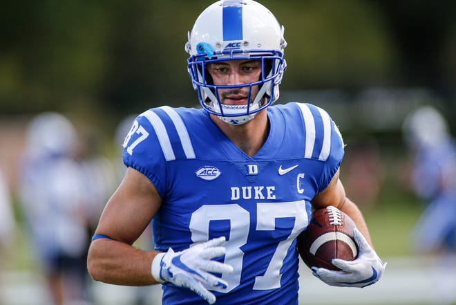 Kansas City Chiefs All-Pro tight end Travis Kelce says he is ready to mentor rookie Noah Gray, who was drafted out of Duke.