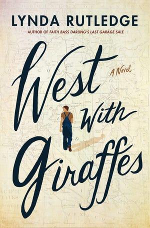 """""""West With Giraffes"""" by Lynda Rutledge"""