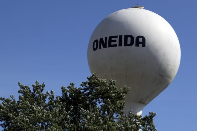 The City of Oneida, founded in 1854, is located in Knox County, Illinois.